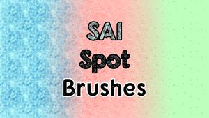 SAI spot brushes by horse14t