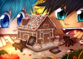 Gingerbread House by Isi-Daddy