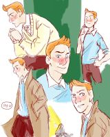 Tintin doodles 2 by IncenteFalconer