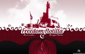 Freedom flotilla 2 by Telpo