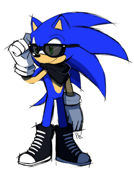 Swaggy Sonic by ProBOOM