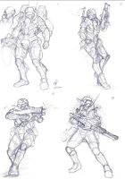 Soldiers by Auzzymo
