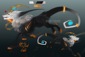 .:Melted Gold:. Adopt Auction (CLOSED) by xekoh