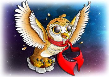 'O' Is For Owl by Make-It-Mico