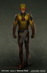 ReverseFlash v1 by AndyPoonDesign