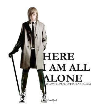 Here I am all alone by feimo