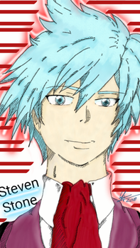 Steven Stone from Pokemon. Traveli7up by Traveli7up