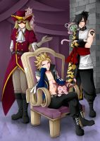 Mages of Sabertooth by CelestialRayna