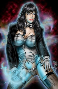 Zatanna Color by mikeomni