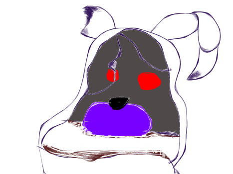 Withered Twisted Bonnie Sketch by RealAftonRobotics