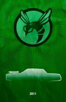 Movie Car Posters - Green Hornet by Boomerjinks