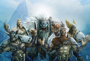 Norses from Hungry Troll by LANZAestudio