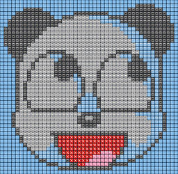 Awesome Panda in Mockup XP Buttons by Rage-DSSViper-Sigma