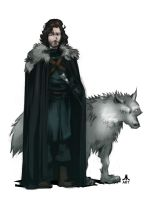 Game of Thrones JON SNOW by jasinmartin