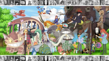 The Art of Ghibli - Wallpaper Edition by Hyung86