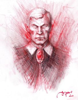 Strahd sketch by MichaelSyrigos