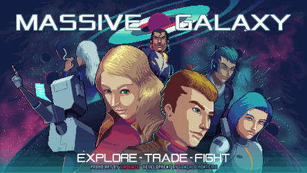 Massive Galaxy - promo art 2 by kirokaze