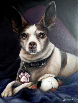 Cocoa -oil painting on canvas,40cmx50cm Commission by SimonaFilipH