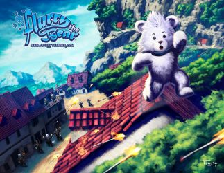 Flurry The Bear - Rooftop Chase by Tonywash