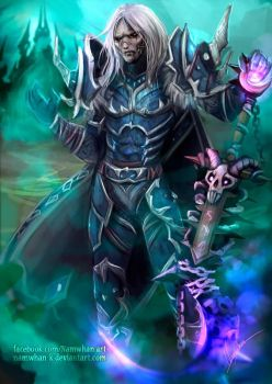 Death knight .commission. by Namwhan-K