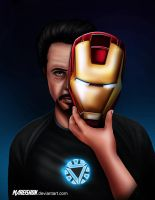 Iron man by Mareishon