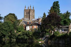 Catherdal view Hereford ( New Edit ) by UdoChristmann