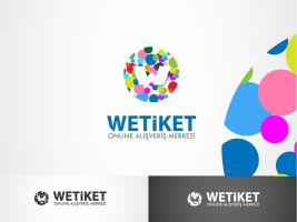 wetiket.net logo work 3 by HalitYesil