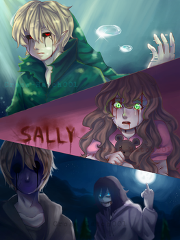 |Creepypasta| Their places by Cross-Hatch001