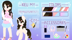 Kieu My [2018 OC REF] by Twily-Star