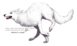 White Wolf by emgeal