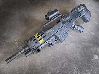 Nerf Halo Rifle by meandmunch