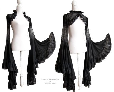 Angelic shrug dark, Somnia Romantica by M. Turin by SomniaRomantica