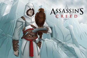 Altair Assassin's creed WIP by melusineistross