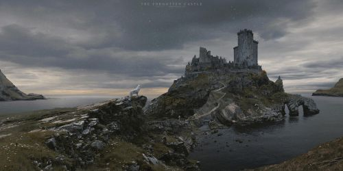 The Forgotten Castle by Pyrogas-Artworks