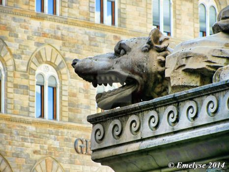 Firenze, piazza Signoria by Emelyse
