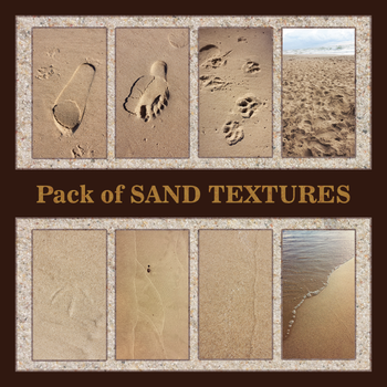 Sand Textures (pack) by ynne-black-stock