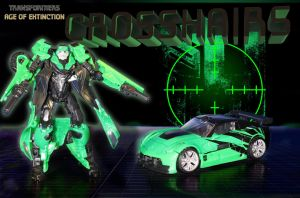 Transformers Age of Extinction Crosshairs by ToddimusDesign