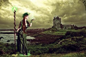Eriu's Farewell, The Tuatha De Danann by DivineWish