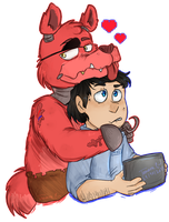 Foxy and Mike by Tamara-637