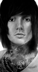 Oliver Sykes by IsabelIntangible