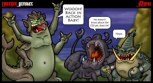 CineMons: Remakes by JSComix