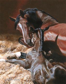 Love at First Sight - Acrylic Painting by ShaleseSands