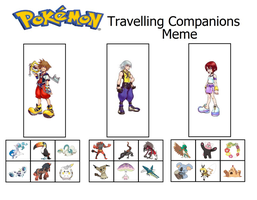 Kingdom Hearts Pokemon Teams