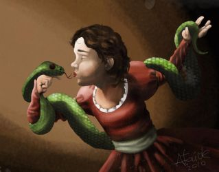 Snake witch by jdataide