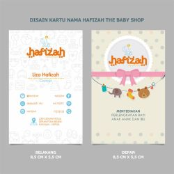 Name Card Hafizah by mumu145