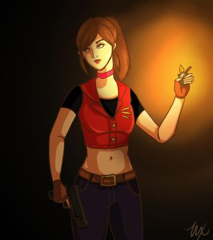 Claire Redfield by xLetsFly
