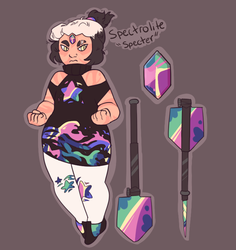 Specter - Gemsona ART NOT BY ME by aliencherub