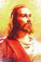 Jesus by C0pyright