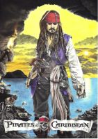 Captain Jack Sparrow by Nienova95