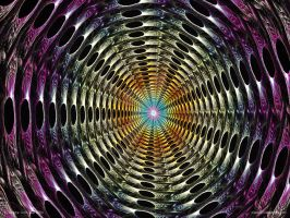 Psychedelic Tunnel by psion005